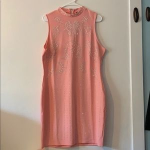 FashionNova Plus Sheri Embellished Mini Dress